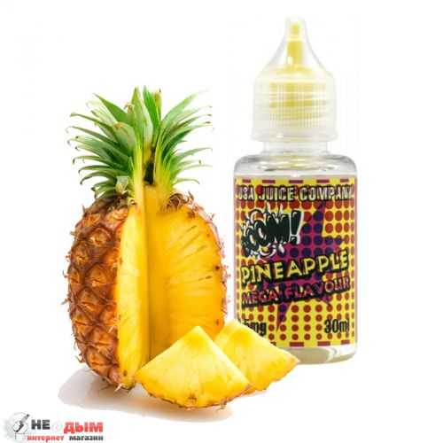 Жидкость Mega Flavour Pineapple, 30мл, 3 мг