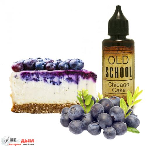 Жидкость Old School Chicago Cake 50мл, 1,5 мг